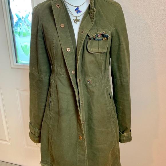 Free People Jackets & Blazers - Free People Brown Duster Jacket